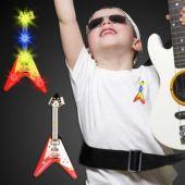 Flying V LED Guitar Blinky-12 Pack