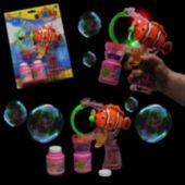 Clown Fish LED Bubble Gun