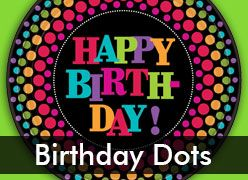 Birthday Dots Theme Party