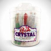 Rock Crystal Sticks-36 Pack