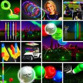 Night Flyer Tee Off Tournament Kit -  36 Players