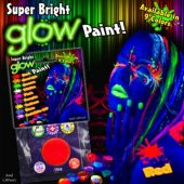 Red Glow Paint