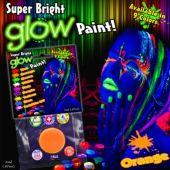 Orange Glow Paint