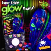 White UV Glow Paint