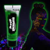 Green UV Face and Body Paint