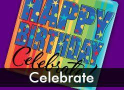 Celebrate Birthdays Theme Party