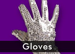 Fishnet Gloves & Sequin Gloves