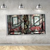 Zombie Scene Setter Wall Decoration