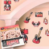 Rock and Roll Cutouts-30 Pack