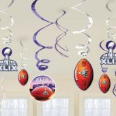 Super Bowl XLIX Swirls-12 Pack