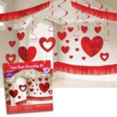 Valentine's Day Giant Room Decorating Kit