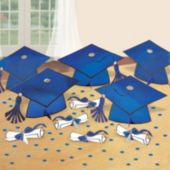 Blue Graduation Party Table Decorating Kit