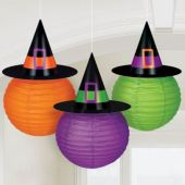 Witch Hat Lanterns-3 Per Unit