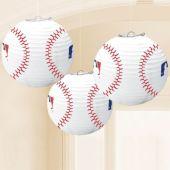 Baseball MLB Lanterns - 3 Per Unit