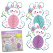 Easter Bunny Honeycomb Decorations-3 Per Unit