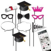 Graduation Photo Booth Prop Kit