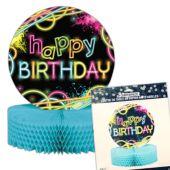 """Glow Party Birthday Centerpiece - 12"""""""