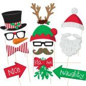 Christmas Photo Booth Prop Kit