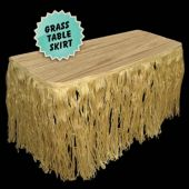 Grass Table Skirt