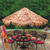 Raffia Umbrella Cover Decoration