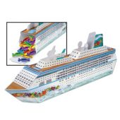 Cruise Ship 3D Centerpiece-13 1/4""