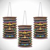 Tiki Paper Lanterns- 3 Per Unit