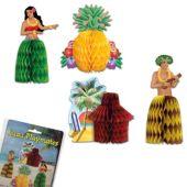 Luau Honeycomb Decorations