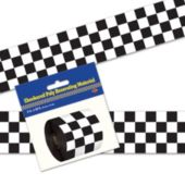 Checkered Party Tape