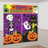 Happy Halloween Wall Decorating Kit