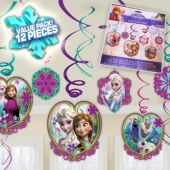 Disney's Frozen Swirl Decorations - 12 Pack