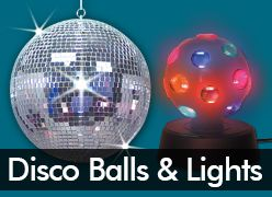 Disco Balls & Lights