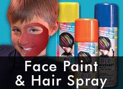 Face Paint & Hair Spray