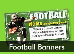 Football Custom Banners