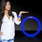 "Blue Glow Bracelets-8""- 50 Per Tube"