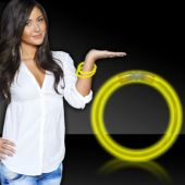 "Yellow Glow Bracelets-8""- 50 Per Tube"