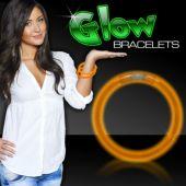 "Orange Glow Bracelets-8""-50 Per Tube"