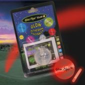 Red Glow Flyer Golf Ball