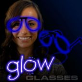 Blue Glow Eyeglasses