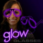 Purple Glow Eyeglasses