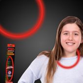 """Red Glow Necklace-22""""- Retail Pack"""