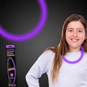 "Purple Glow Necklace-22""- Retail Pack"