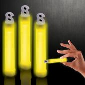 "Yellow Glow Sticks-4""-50 Pack"