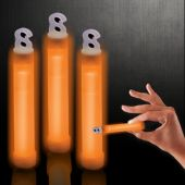 "Orange Glow Sticks-4""-50 Pack"