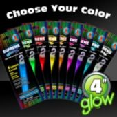"4"" Glow Sticks - Retail Pack"