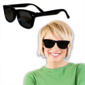 Black Retro Wayfarer Sunglasses-12 Pack