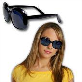 Black Rock Star Glamour Sunglasses - 12 Pack