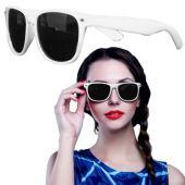 White Wayfarer Sunglasses-12 Pack