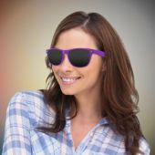 Purple Wayfarer Sunglasses-12 Pack