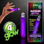 "Purple Glow Stick-4""-Retail Pack"