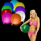 "Glow in the Dark Beach Balls - 12"", 25 Pack"